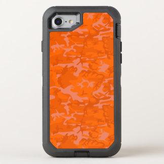 Orange Camo OtterBox Defender iPhone 8/7 Case
