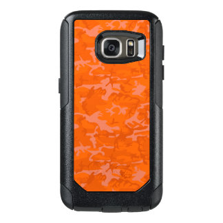 Orange Camo OtterBox Samsung Galaxy S7 Case