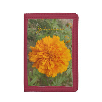 Orange Carnation custom wallets