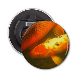 Orange Carp Photo Bottle Opener