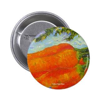 Orange Carrots Pinback Buttons
