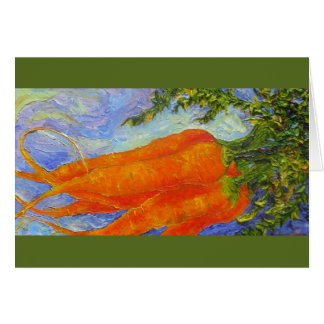 Orange Carrots Greeting Card