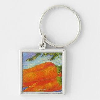 Orange Carrots Keychain