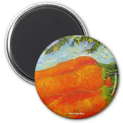 Orange Carrots Refrigerator Magnet