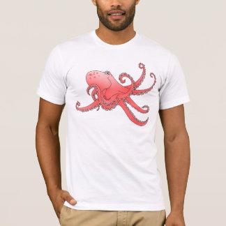 Orange cartoon style Octopus T-Shirt