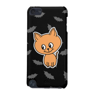 Orange Cat and Bats. iPod Touch (5th Generation) Covers