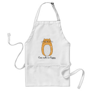 'Orange Cat' Apron