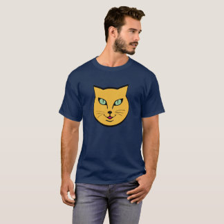 Orange cat face T-Shirt