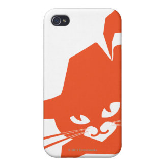 Orange Cat iPhone 4 Covers