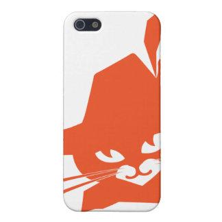 Orange Cat iPhone 5 Cases
