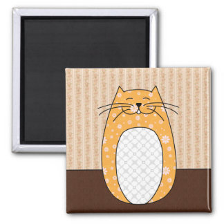 'Orange Cat' Magnet