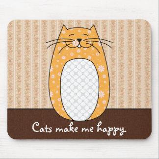 'Orange Cat' Mousepad