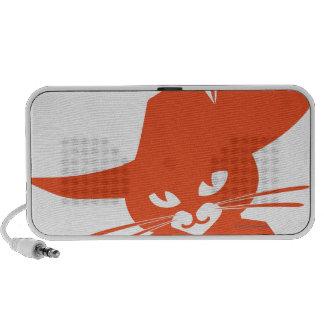 Orange Cat Speaker System
