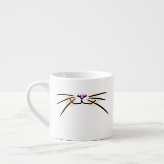 Orange Cat Whiskers Mug