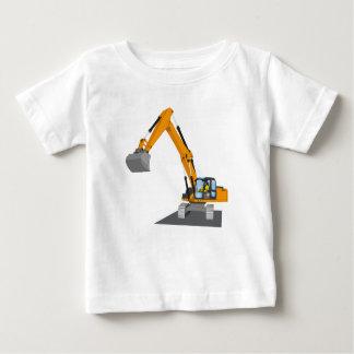 orange chain excavator baby T-Shirt