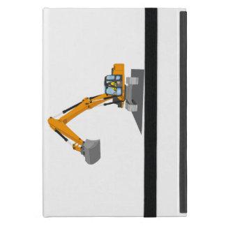 orange chain excavator cover for iPad mini