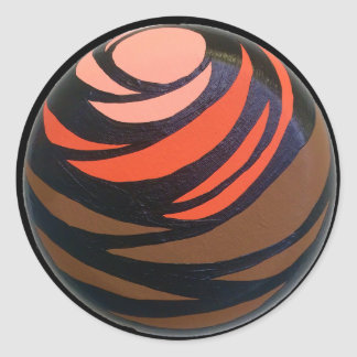 Orange Chakra Sticker