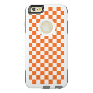 Orange Checkerboard OtterBox iPhone 6/6s Plus Case