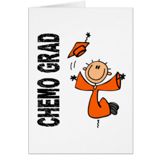 Orange CHEMO GRAD 1 (Leukemia) Card
