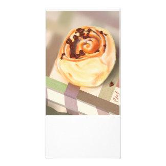 Orange & Choc-chip crescent rolls Photo Greeting Card
