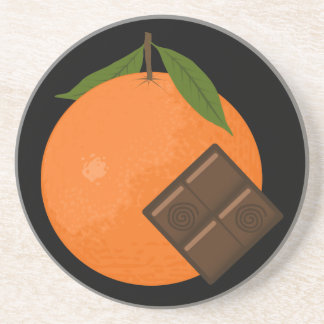 Orange Chocolate Coaster