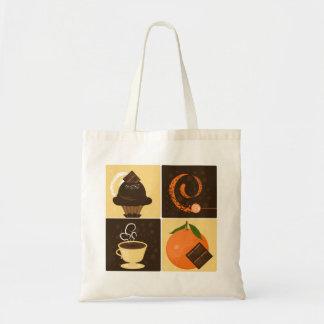 Orange Chocolate Tote