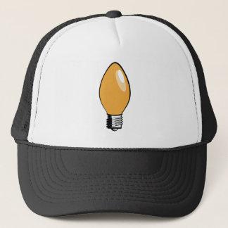 Orange Christmas Tree Light Trucker Hat