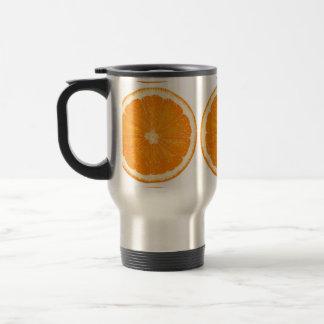 Orange citrus  travel mug