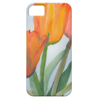 Orange Citrus Tulips Barely There iPhone 5 Case