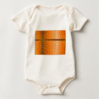 Orange city baby creeper