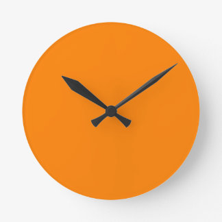 Orange Clocks