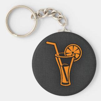 Orange Cocktail Keychain