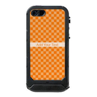 Orange Combination Checkerboard by ShirleyTaylor Incipio ATLAS ID™ iPhone 5 Case
