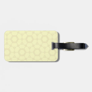 Orange Connections Luggage Tag