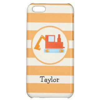 Orange Construction Toy Backhoe iPhone 5C Covers