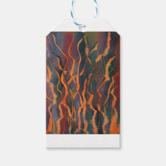 Orange Coral Growth Gift Tags