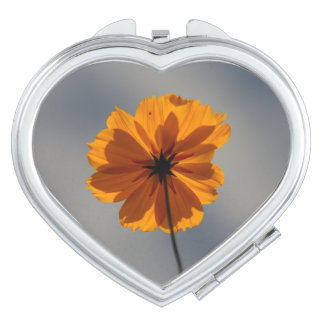 Orange Coreopsis Compact Mirror