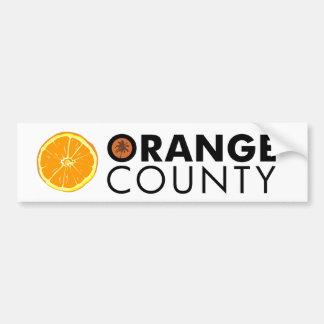 Orange County bumper sticker