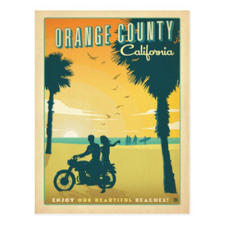 Orange County, CA Postcard