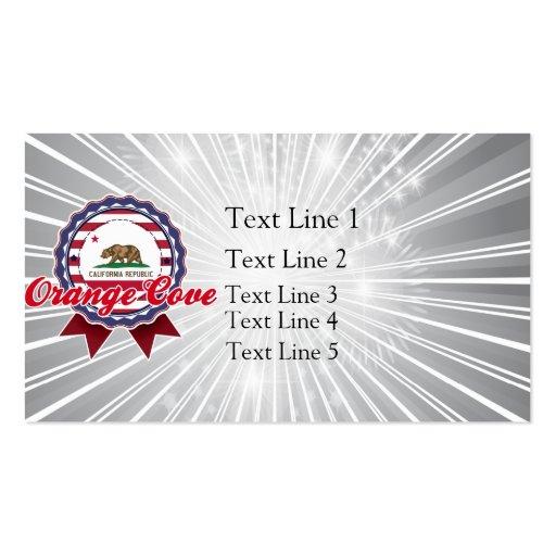 Orange Cove, CA Business Card Template
