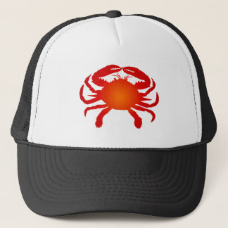 Orange Crab Trucker Hat