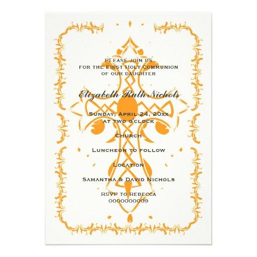 Orange Cross First Communion Confirmation Announcement