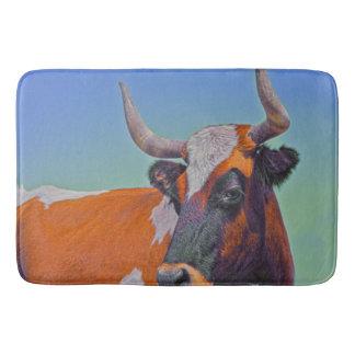 Orange Crush Bath Mat Western Bull
