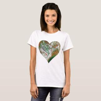 Orange Crush Heart T-Shirt