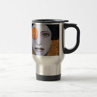 Orange Crush Stainless Steel Travel Mug