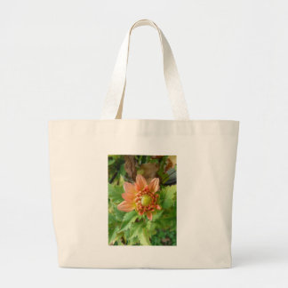 Orange Dahlia Bag