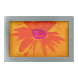 Orange Daisy Belt Buckle