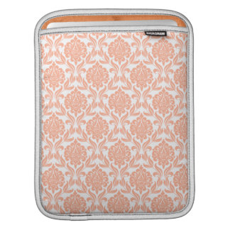 Orange Damask Pattern iPad Sleeve