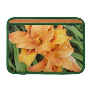 Orange Daylilies 11 Inch Sleeve For MacBook Air