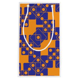 Orange Dice Small Gift Bag